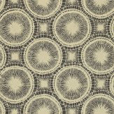 Scion Tree Circles Black / Beige Wallpaper