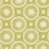 Scion Tree Circles Lime Wallpaper