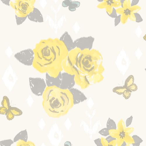 Albany Charlotte Yellow Wallpaper - Product code: 267807