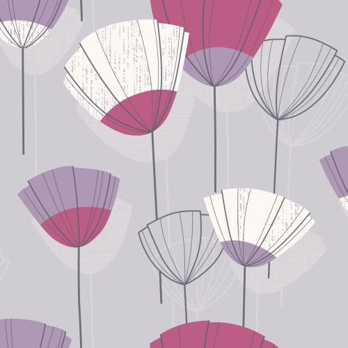 Albany Daphne Pink / Purple Wallpaper - Product code: 268019