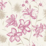 Albany Emily Pink / Gold Wallpaper - Product code: 267906