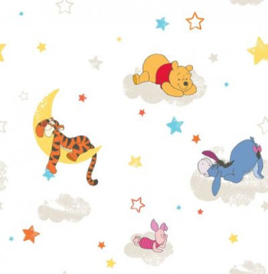 Image of Kids @ Home Wallpapers Pooh Rise & Shine, DF70799