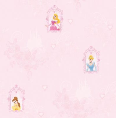 Kids @ Home Wallpapers Princess Fairytale Dream D71699
