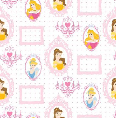 Kids @ Home Wallpapers Princess Royal Frames D71799