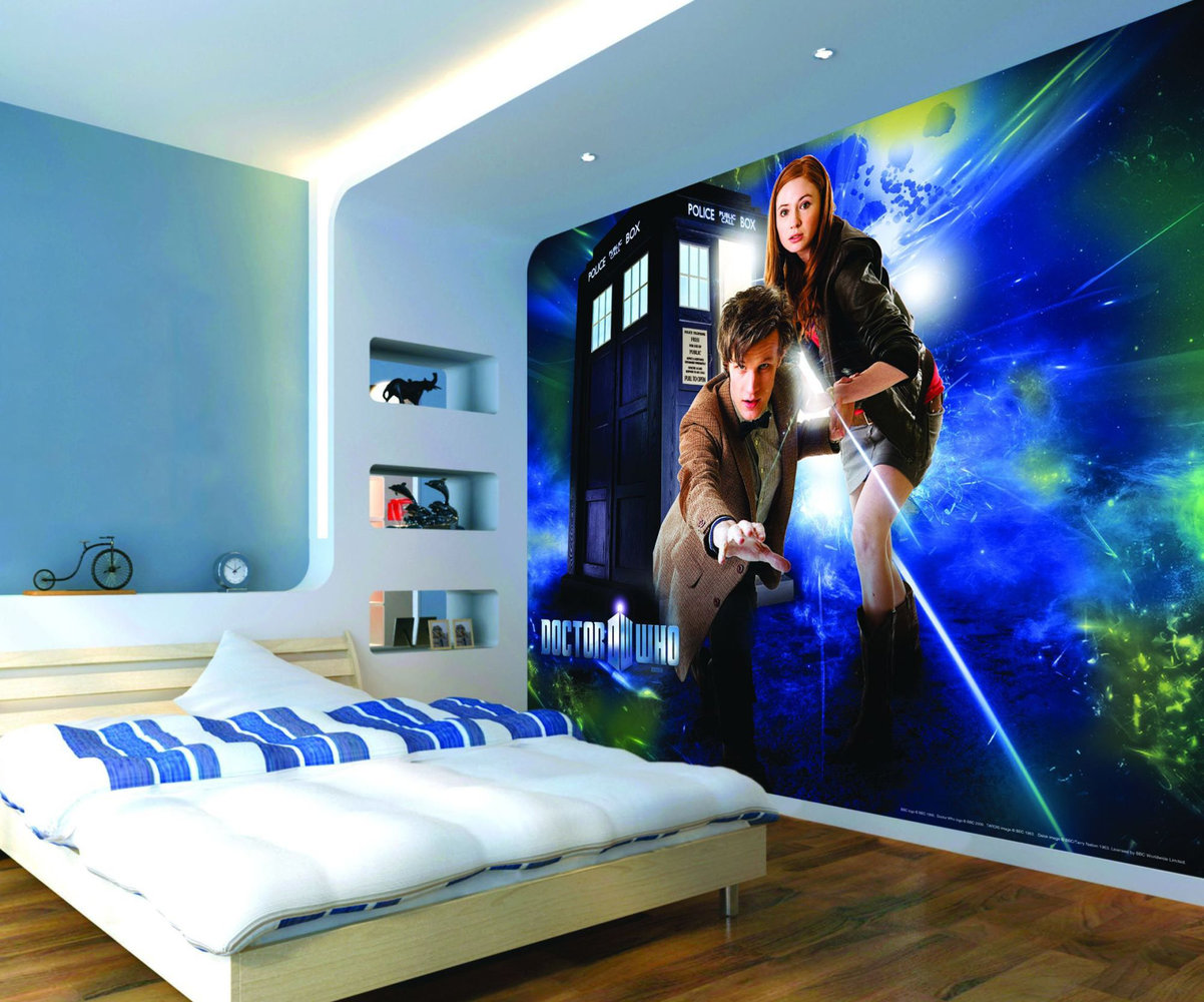 amy and dr who mural murals wallpaper direct