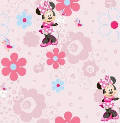 Image of Kids @ Home Wallpapers Minnie's Spring Walk, DF72199