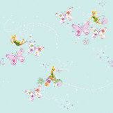 Kids @ Home Tinkerbell Add Pixie and Dust Multi Wallpaper