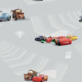 Kids @ Home Cars 2 Grey Wallpaper - Product code: DF72799