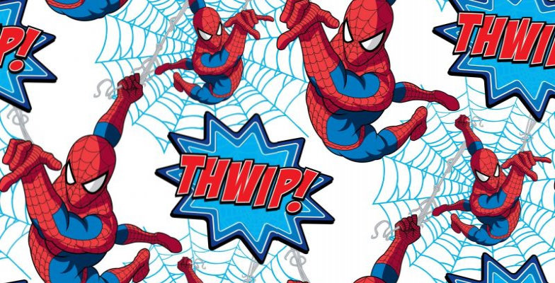 Image of Kids @ Home Wallpapers Spiderman Thwip!, DF73299