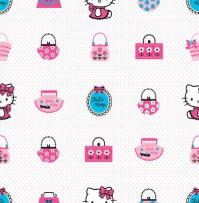 Kids @ Home Wallpapers Hello Kitty Fashion DF73499