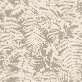 Little Greene Fern Gilver / Grey Wallpaper
