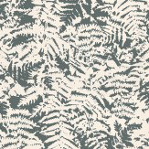 Little Greene Fern Charcoal / Grey Wallpaper - Product code: 0280FEOFFBL