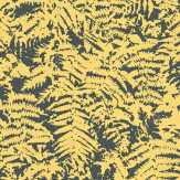 Little Greene Fern Yellow Wallpaper