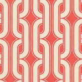 Little Greene Lavaliers Red Wallpaper
