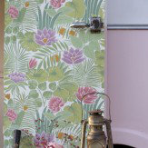 Little Greene Reverie Pale Green Wallpaper