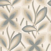 Little Greene Starflower Platinum Wallpaper