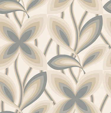 Little Greene Starflower Platinum Wallpaper - Product code: 0280STPLATI