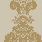Cole & Son Baudelaire Metallic Gold Wallpaper - Product code: 94/1003