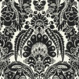 Cole & Son Chatterton Black Wallpaper