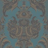 Cole & Son Wyndham Teal Wallpaper