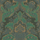 Cole & Son Aldwych Green Wallpaper