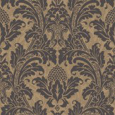Cole & Son Blake Black Wallpaper