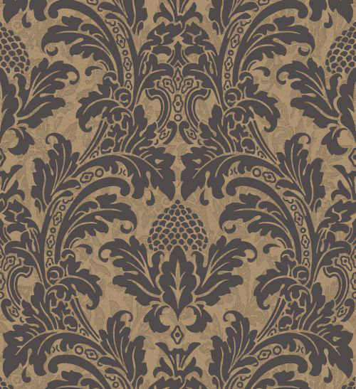Cole & Son Blake Black Wallpaper - Product code: 94/6033