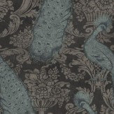 Cole & Son Byron Aqua Wallpaper