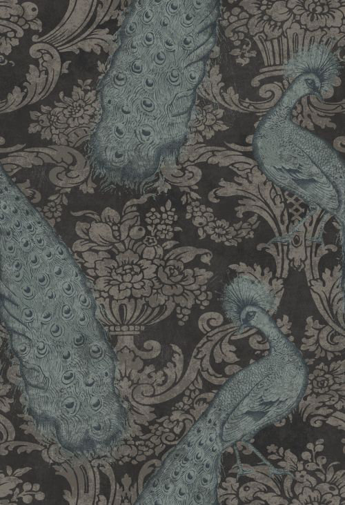 Cole & Son Byron Aqua Wallpaper - Product code: 94/7041