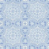 Cole & Son Piccadilly Pale Blue Wallpaper