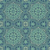 Cole & Son Piccadilly Teal Wallpaper