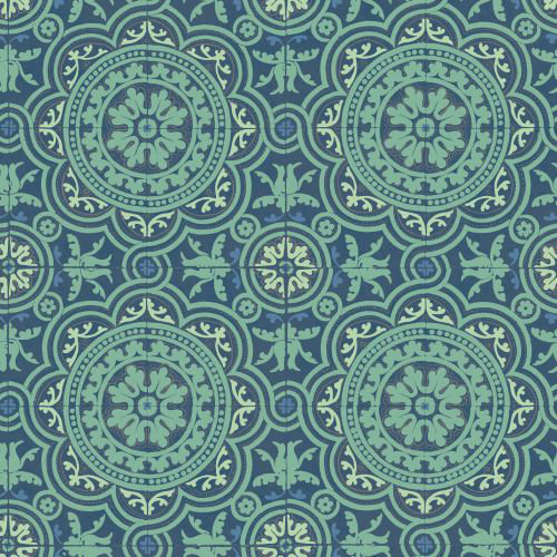 Cole & Son Piccadilly Teal Wallpaper - Product code: 94/8043