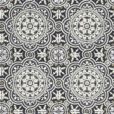 Cole & Son Piccadilly Black & White Wallpaper