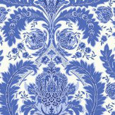 Cole & Son Coleridge Blue & White Wallpaper