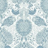 Christian Lacroix Marseille Mid Blue / White Wallpaper