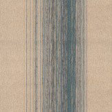 Zoffany Sisal Stripe Blue / Purple Wallpaper - Product code: 310414