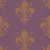 Carlucci di Chivasso Crest Deep Purple Wallpaper