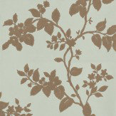 Carlucci di Chivasso Cult Metallic Gold / Pale Green Wallpaper