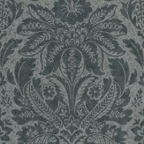 Carlucci di Chivasso Curious Metallic Silver / Dark Grey Wallpaper