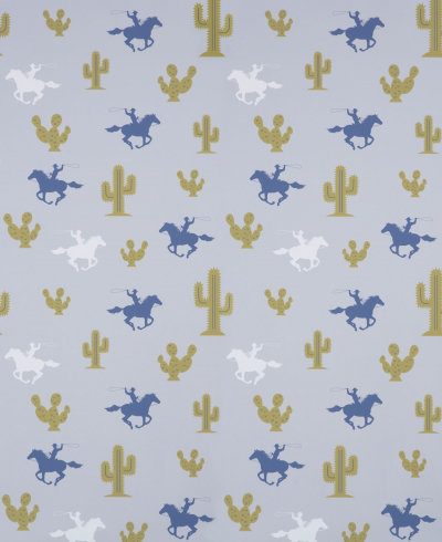 Image of Hibou Home Wallpapers Cactus Cowboy, HH00301