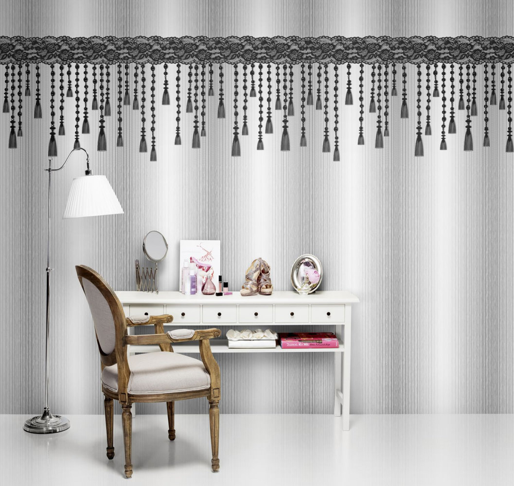 Mr Perswall Stylish Tassels Mural - Product code: P142202-8