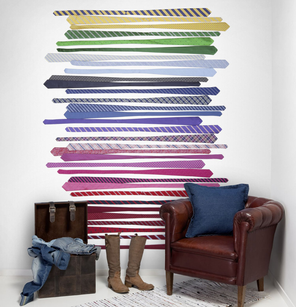 Mr Perswall Tiepology Mural - Product code: P141502-W