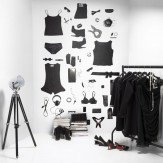 Mr Perswall All Black Mural - Product code: P142601-4
