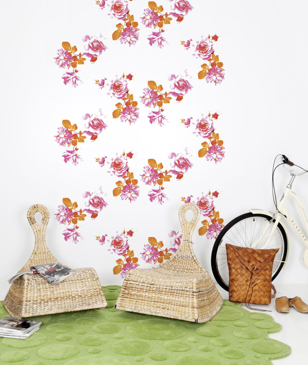 Mr Perswall Graceful Garland Mural - Product code: P142701-4