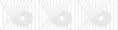 Image of Erica Wakerly Wallpapers Minispiral Grey White, MIN G/W