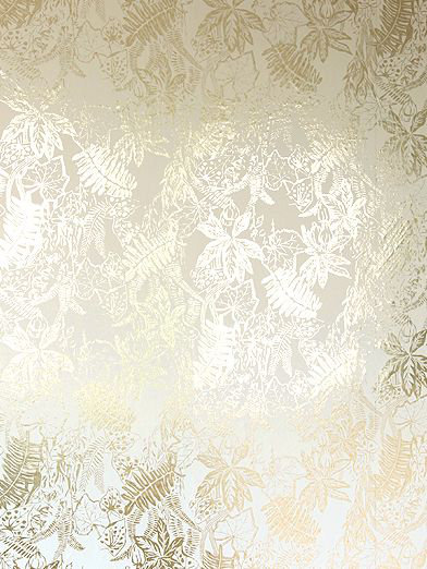 Hothouse Cream Gold By Erica Wakerly Wallpaper Direct