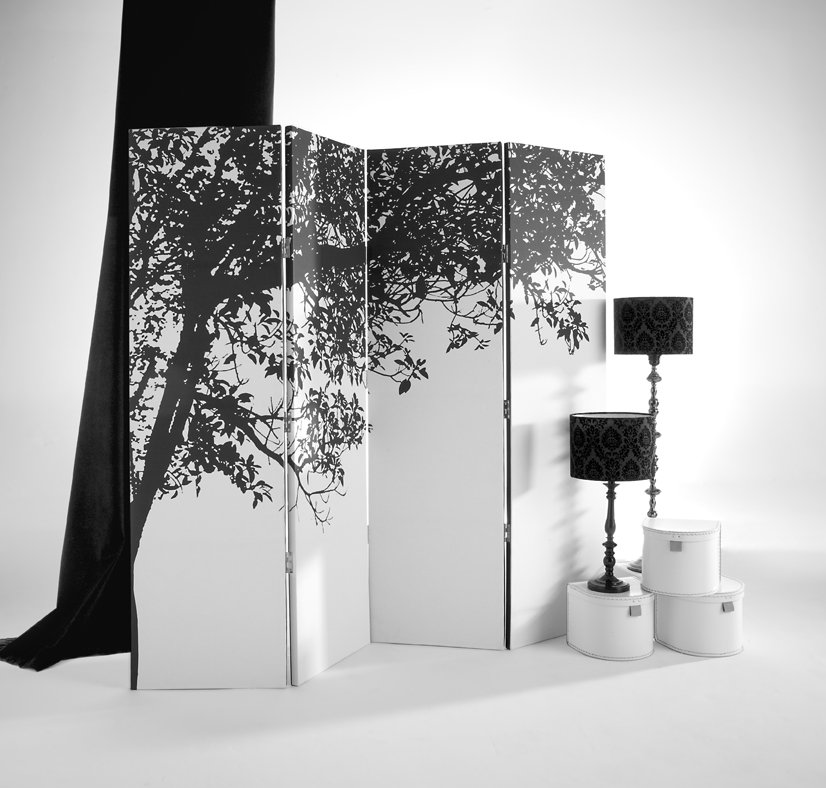 Trees Silhouette Screen By Arthouse Wallpaper Direct