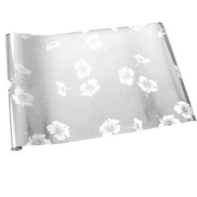 Image of Erica Wakerly Wallpapers Hibiscus White Silver, HIB W/S