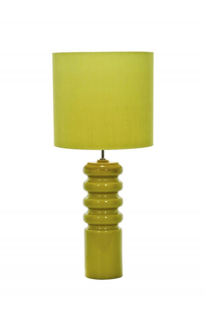 Image of Elstead Lighting Table lamps Contour Lime Table Lamp, HQB/Contour Lime