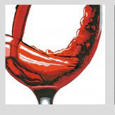 Arthouse Wine Glasses Set of 2 Art - Product code: 002563